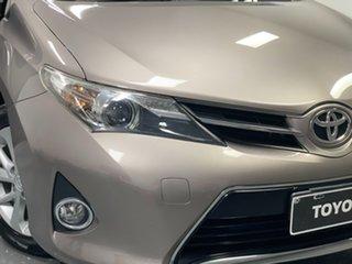 2014 Toyota Corolla ZRE182R Ascent Sport Bronze 6 Speed Manual Hatchback.