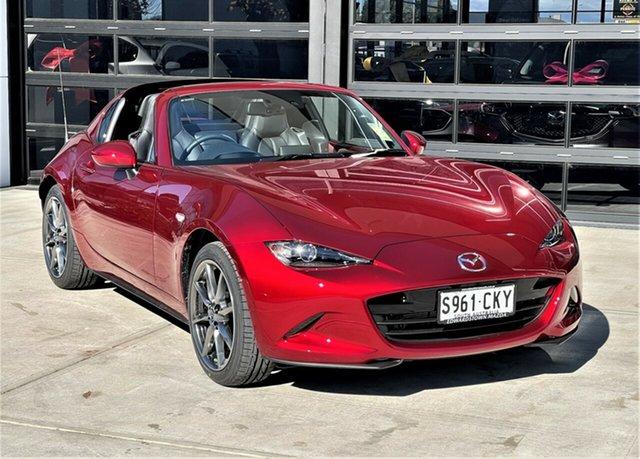 Demo Mazda MX-5 ND GT RF SKYACTIV-Drive Edwardstown, 2021 Mazda MX-5 GT RF SKYACTIV-Drive Targa