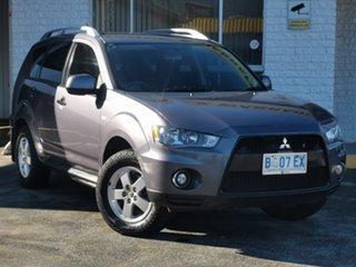 2009 Mitsubishi Outlander ZH MY10 LS Grey 5 Speed Manual Wagon.
