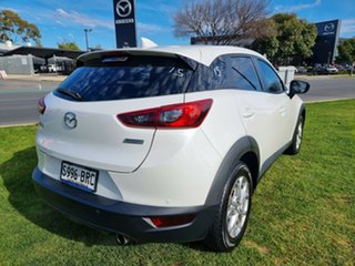 2017 Mazda CX-3 DK2W7A Maxx SKYACTIV-Drive Snowflake White 6 Speed Sports Automatic Wagon.