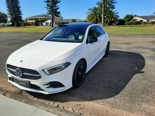 2021 Mercedes-Benz A-Class W177 801+051MY A250 DCT 4MATIC Polar White 7 Speed.