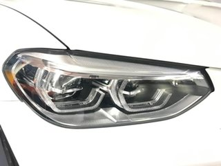 2019 BMW X3 G01 xDrive30i Steptronic White 8 Speed Automatic Wagon