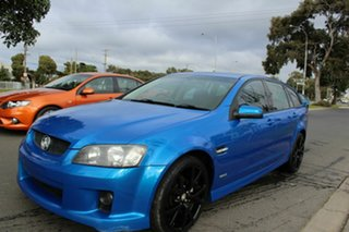 2010 Holden Commodore VE MY10 SV6 Sportwagon Blue 6 Speed Sports Automatic Wagon.