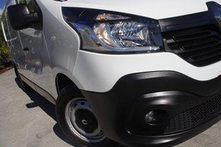 2018 Renault Trafic X82 103KW Low Roof SWB White 6 speed Manual Van.