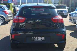 2015 Kia Rio UB MY16 S Black 4 Speed Automatic Hatchback
