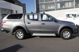 2016 Mitsubishi Triton MQ MY17 GLX+ Club Cab Grey 5 Speed Sports Automatic Utility.