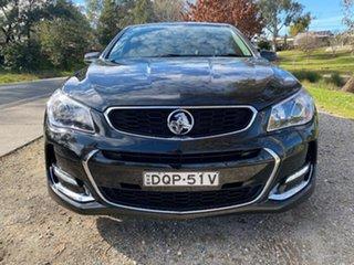 2017 Holden Commodore VF II MY17 SV6 Black 6 Speed Sports Automatic Sedan.
