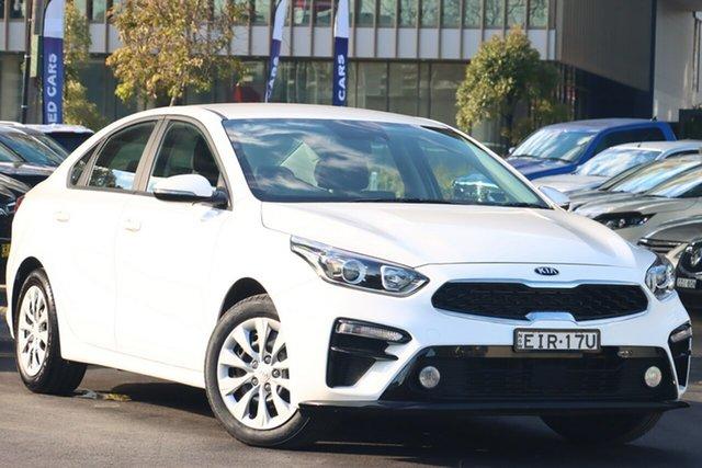Used Kia Cerato BD MY20 S Zetland, 2020 Kia Cerato BD MY20 S Clear White 6 Speed Sports Automatic Sedan