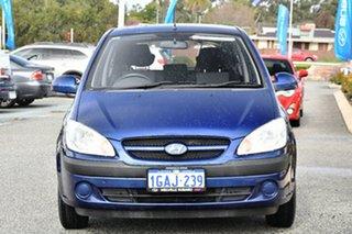 2008 Hyundai Getz TB MY07 SX Blue 4 Speed Automatic Hatchback