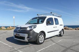 2014 Renault Kangoo F61 Phase II Maxi Crew White 6 Speed Manual Van.