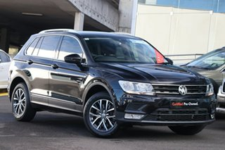 2016 Volkswagen Tiguan 5N MY17 132TSI DSG 4MOTION Comfortline Black 7 Speed.