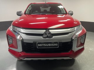 2019 Mitsubishi Triton MR MY19 GLS Double Cab Red 6 Speed Sports Automatic Utility.