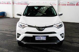 2017 Toyota RAV4 ASA44R MY18 GX (4x4) Glacier White 6 Speed Automatic Wagon.