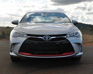 2017 Toyota Camry ASV50R MY16 Atara SX Silver 6 Speed Automatic Sedan.