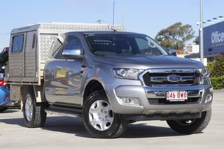 2017 Ford Ranger PX MkII XLT Super Cab Silver 6 Speed Sports Automatic Utility.