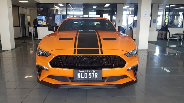 Demo Ford Mustang FN 2020MY R-Spec Hamilton, 2019 Ford Mustang FN 2020MY R-Spec Twister Orange 6 Speed Manual Fastback