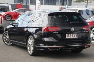 2017 Volkswagen Passat 3C (B8) MY17 140TDI DSG Highline Black 6 Speed Sports Automatic Dual Clutch.