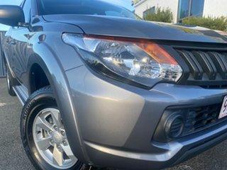 2016 Mitsubishi Triton MQ MY16 GLX+ Double Cab Grey 5 Speed Sports Automatic Utility.