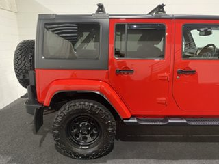 2015 Jeep Wrangler JK MY2015 Unlimited Overland Red 5 Speed Automatic Hardtop