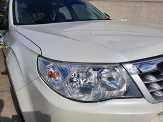 2012 Subaru Forester S3 MY12 X AWD Luxury Edition White 4 Speed Sports Automatic Wagon.