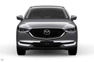 2021 Mazda CX-5 KF4W2A Maxx SKYACTIV-Drive i-ACTIV AWD Sport Silver 6 Speed Sports Automatic Wagon.