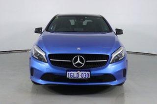 2017 Mercedes-Benz A180 176 MY17 Blue 7 Speed Automatic Hatchback.