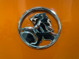 2013 Holden Commodore VF MY14 SV6 Orange 6 Speed Sports Automatic Sedan