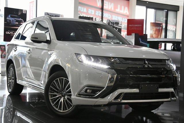 Demo Mitsubishi Outlander ZL MY20 PHEV AWD Exceed Victoria Park, 2020 Mitsubishi Outlander ZL MY20 PHEV AWD Exceed Starlight 1 Speed Automatic Wagon Hybrid