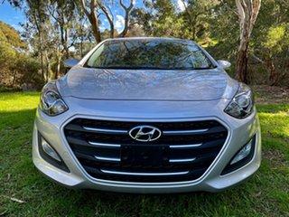 2016 Hyundai i30 GD4 Series II MY17 Active X Sleek Silver 6 Speed Sports Automatic Hatchback
