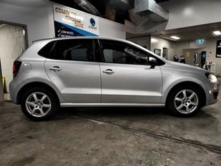 2013 Volkswagen Polo 6R MY13.5 77TSI DSG Comfortline Metallic Silver 7 Speed.