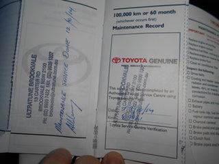 2007 Toyota Corolla ZRE152R Ascent Black 4 Speed Automatic Sedan