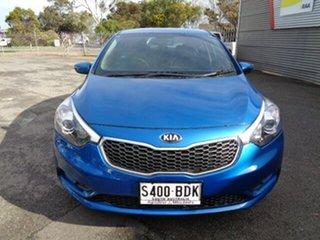 2014 Kia Cerato YD MY15 S Blue 6 Speed Sports Automatic Sedan.