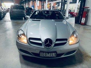 2004 Mercedes-Benz SLK-Class R171 SLK200 Kompressor Silver 5 Speed Automatic Roadster