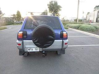 1999 Toyota RAV4 SXA11R Cruiser Blue Manual Wagon