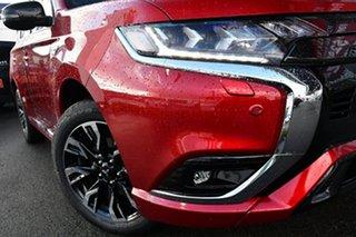 2021 Mitsubishi Outlander ZL MY21 PHEV AWD GSR Red Diamond 1 Speed Automatic Wagon Hybrid.