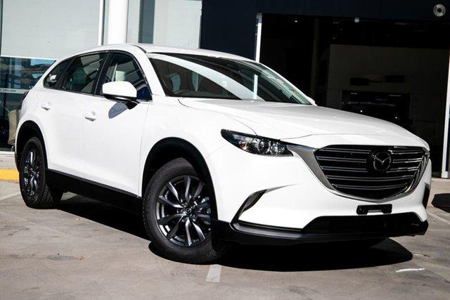 New Mazda CX-9 TC Sport SKYACTIV-Drive Waitara, 2021 Mazda CX-9 TC Sport SKYACTIV-Drive White 6 Speed Sports Automatic Wagon