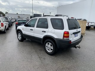 2002 Ford Escape BA XLT White 4 Speed Automatic Wagon