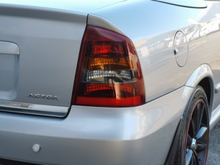 2002 Holden Astra TS Silver 4 Speed Automatic Convertible