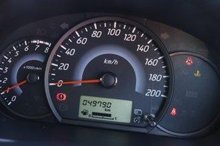 2013 Mitsubishi Mirage LA MY14 ES Red 5 Speed Manual Hatchback