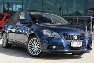 2010 Suzuki Kizashi FR XLS Blue 6 Speed Constant Variable Sedan.