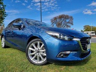 2016 Mazda 3 BN5438 SP25 SKYACTIV-Drive Eternal Blue 6 Speed Sports Automatic Hatchback.