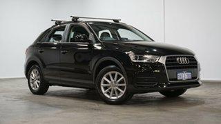 2017 Audi Q3 8U MY17 TFSI S Tronic Black 6 Speed Sports Automatic Dual Clutch Wagon.