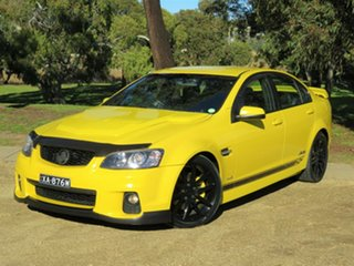 2011 Holden Commodore VE II SS V Yellow 6 Speed Sports Automatic Sedan.