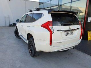2018 Mitsubishi Pajero Sport QE MY19 Black Edition White 8 Speed Sports Automatic Wagon.