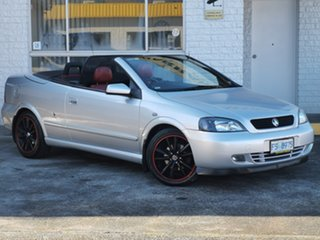 2002 Holden Astra TS Silver 4 Speed Automatic Convertible.