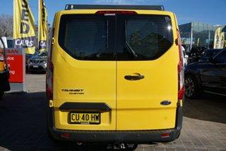 2014 Ford Transit Custom VN 290S Low Roof SWB Yellow 6 Speed Manual Van