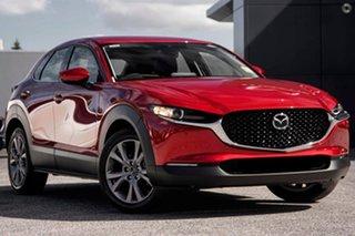 2021 Mazda CX-30 DM2WLA G25 SKYACTIV-Drive Touring Red 6 Speed Sports Automatic Wagon.