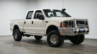 2006 Ford F250 RN XLT White 4 Speed Automatic Utility.
