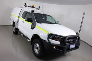 2016 Ford Ranger PX MkII XL 3.2 (4x4) White 6 Speed Manual Super Cab Chassis