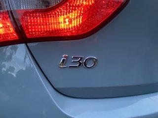 2013 Hyundai i30 GD Elite Stone Blue 6 Speed Sports Automatic Hatchback
